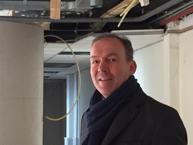 Paul de Ruiter in nieuwe kantoor De Haven